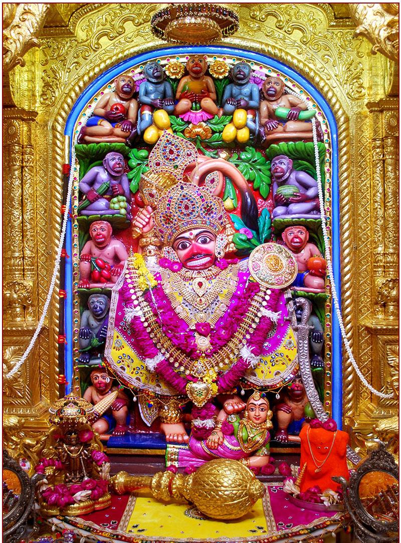 Shree Swaminarayan Mandir Sarangpur Kalupur Mandir