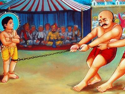 Defeat Of Wrestlers