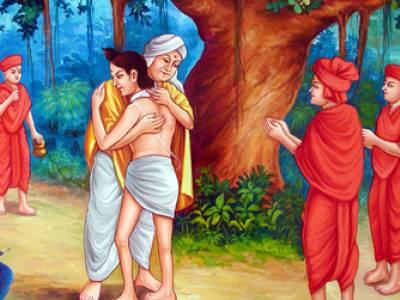 Ramanand Swami Meets Nilkanthvarni